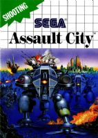 Sega Master System: Assault City - Cart Only